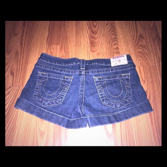 True Religion Pants - True religion denim shorts size 29